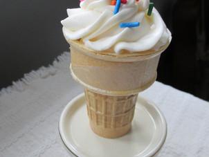 Ice Cream Sundae Cupcake Cones