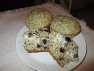 Cheese and Poppy Seed Muffins