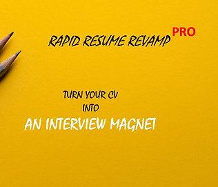 Rapid Resume Revamp Pro