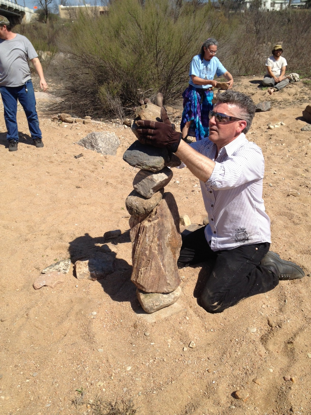 Rock Stacking contest