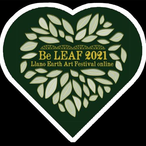 2021 LEAF Sticker
