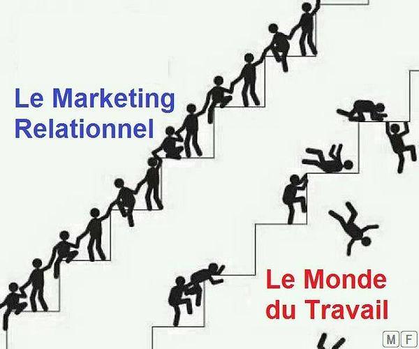 marketing relationel arnaque légal