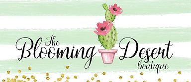 The Blooming Desert Boutique logo