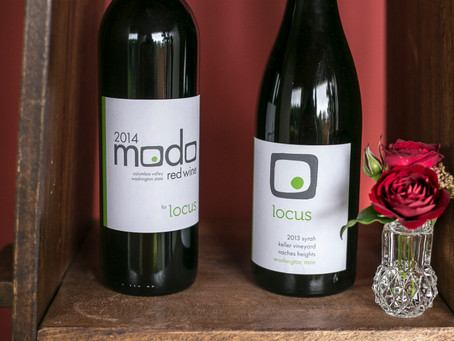 Locus Wines Tasting Room: Open Saturday, Dec 5, 2015 in Seattle SoDo District, 12-6PM