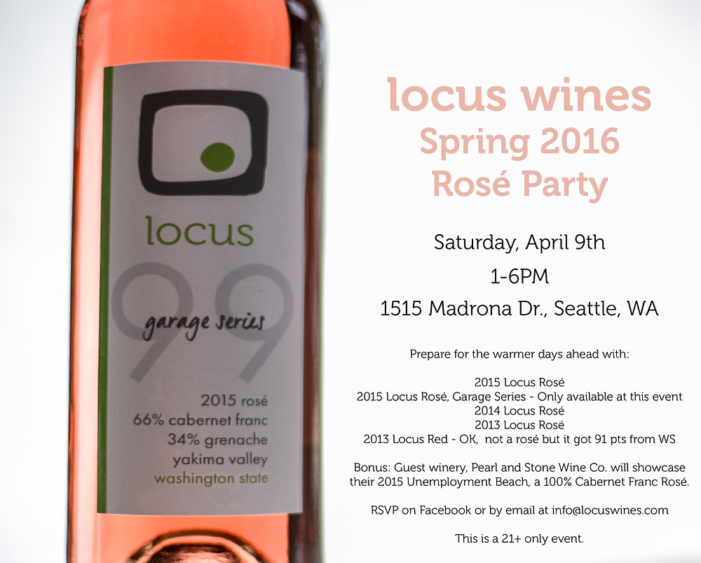 Locus Rose Invitation