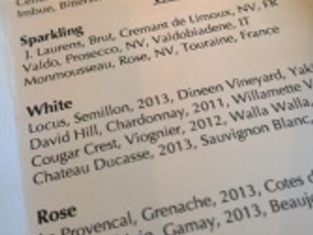 Two Top Seattle Restaurants Add Locus Wines