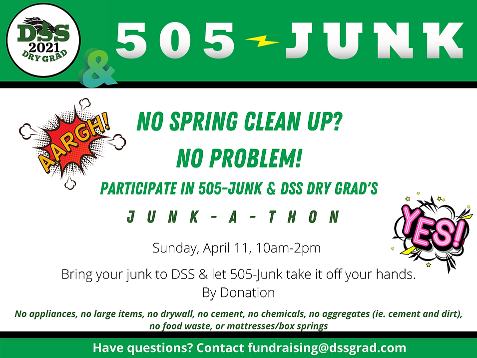 Copy of junk-a-thon on Sunday, April 11,