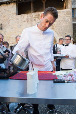 Chef Christophe Ledru