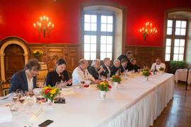 Le jury du Championnat du monde de l'œuf en meurette