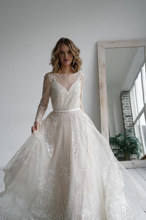 Wedding dress Tirion 2 in 1