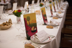 La table d'honneur