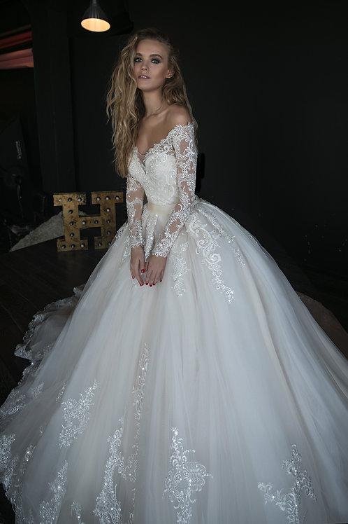 Wedding dress(2in1) OB7962