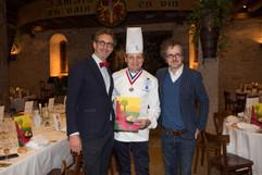 Arnaud Orsel, Eric Briffard et Guillaume Long