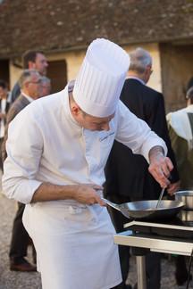 Chef Christophe Quéant