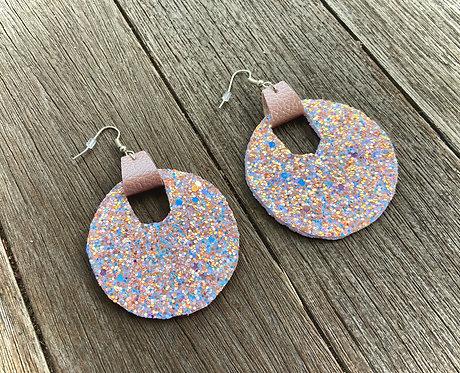 Circular Sparkle Earrings