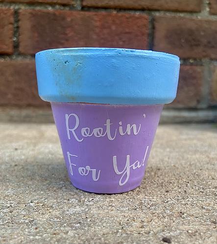Rootin' For Ya Mini Pot