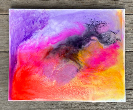 Abstract Liquid Painting 2