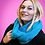 Thumbnail: Solid Colored Infinity Scarf