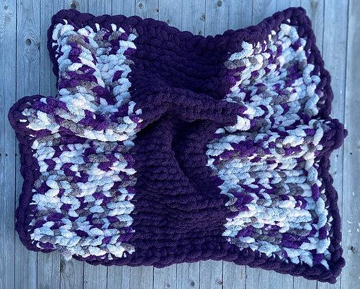 Chunky Knit Camo