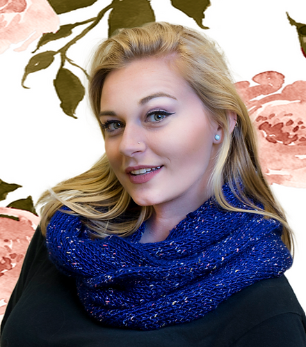 Speckle Infinity Scarf