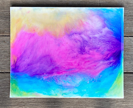 Abstract Liquid Painting 3