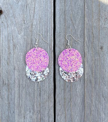 Sparkly Bubble Earrings