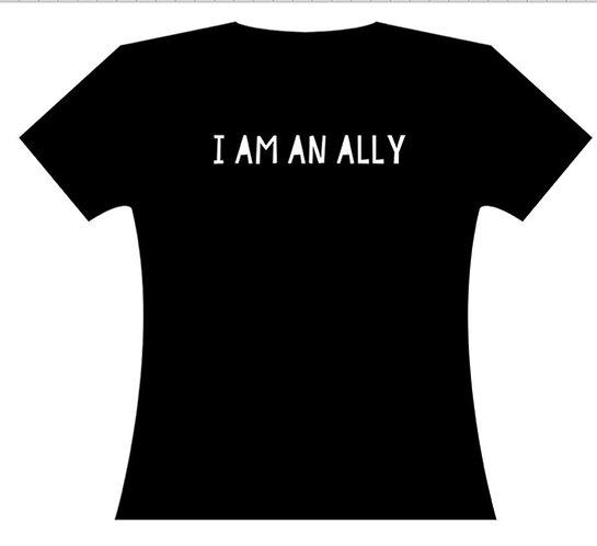 I Am An Ally - Black Lives Matter