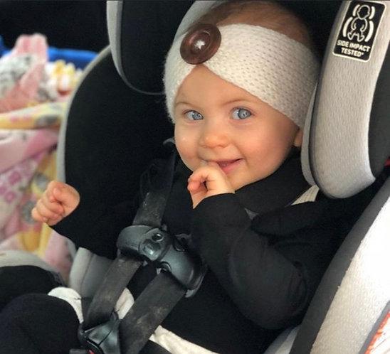 Toddler/ Child Button Headband