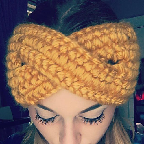 Twist Crochet Headband