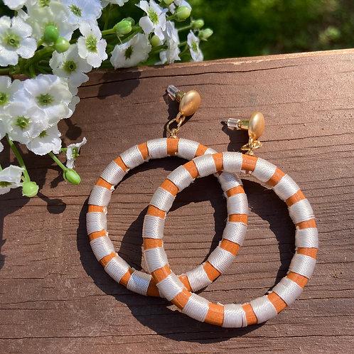Hanging Hoops - Orange