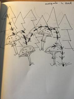 First Idea Sketch