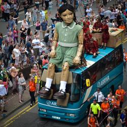 Little Girl Giant Liverpool 2014