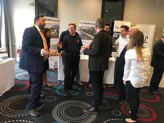 Walkerpack exhibits at Business Expo