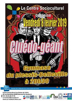 Cluédo géant 2019