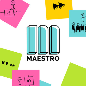 Visual identity and website design of Maestro