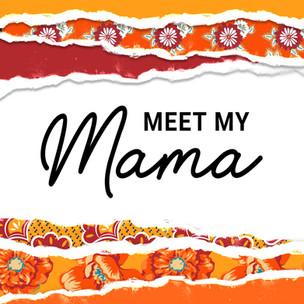 Visual identity of Meet My Mama