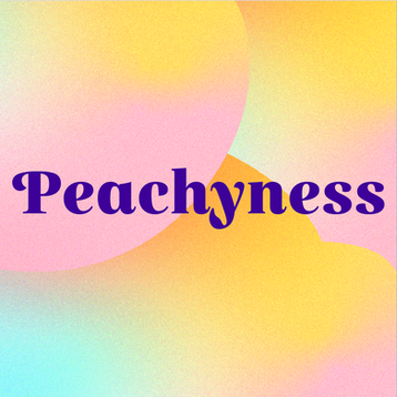 Visual identity for Peachyness