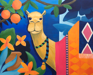 OLIVE - 65x81cm - Acrylic on canvas