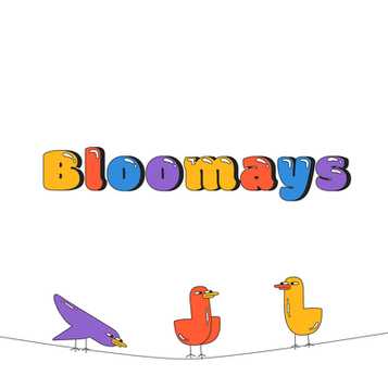 Visual identity of Bloomays