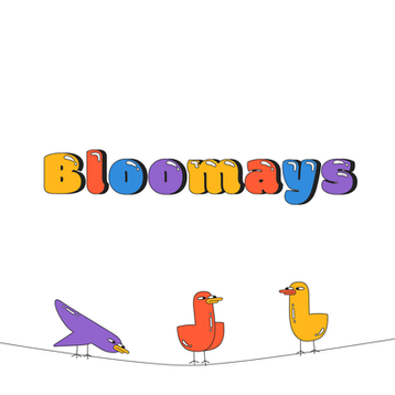 Visual identity and website design of Bloomays