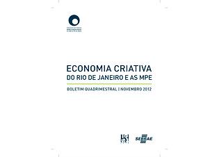 ECONOMIA CRIATIVA DO RIO DE JANEIRO E AS