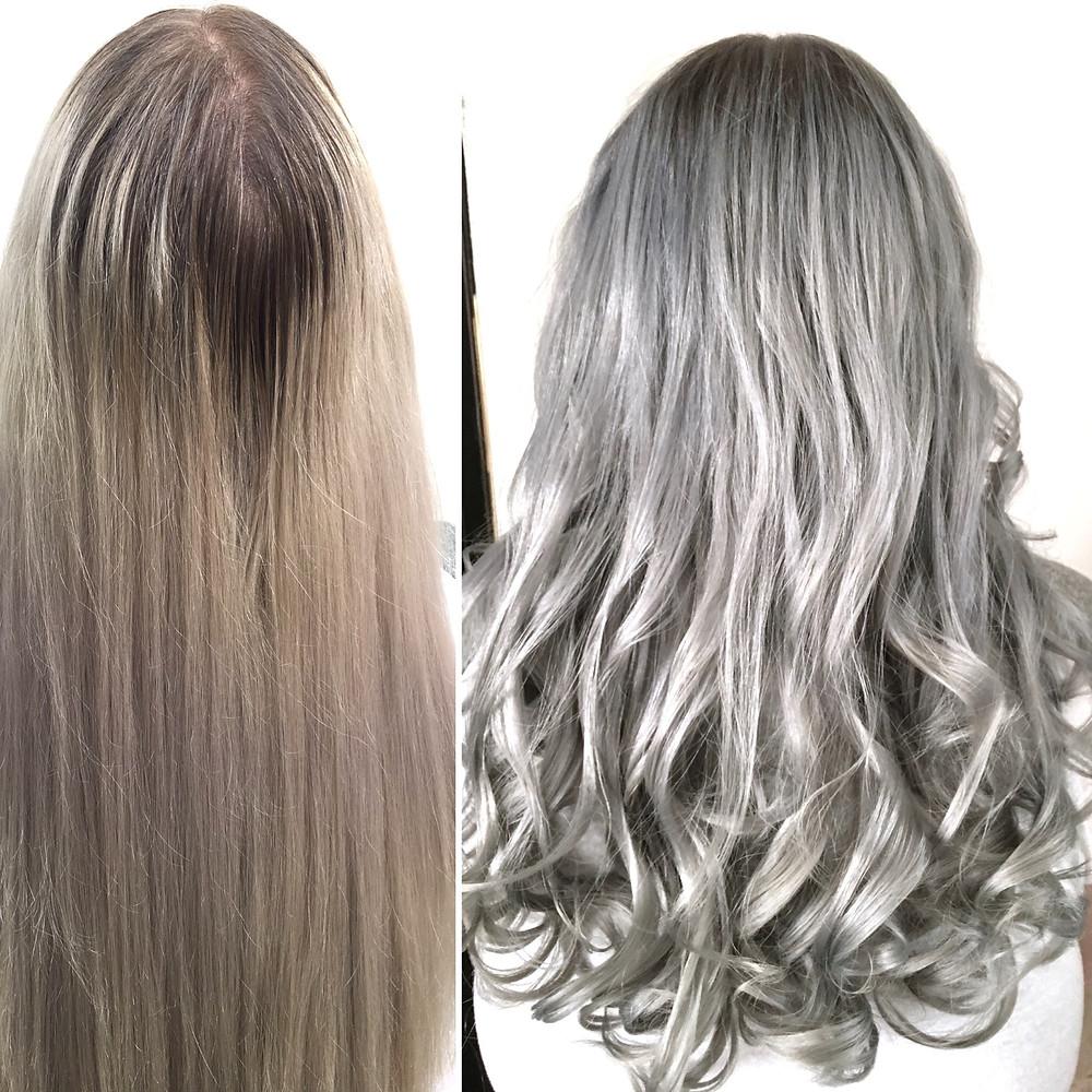 Granny Hair Bonn Olaplex