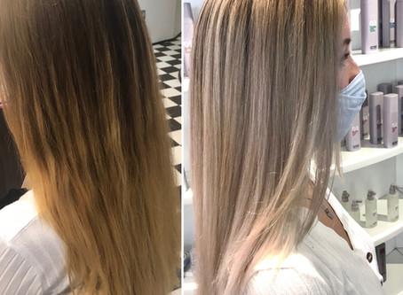 Balayage Cool Blond