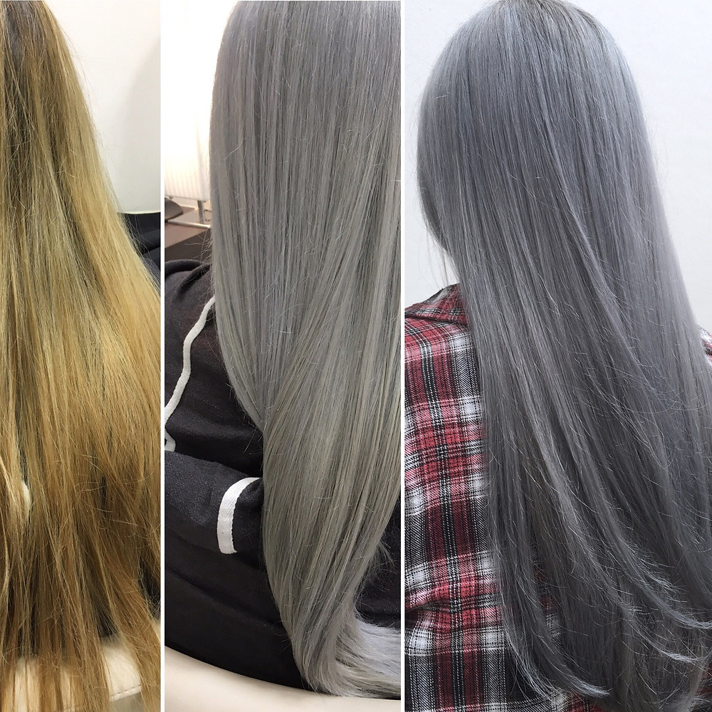 Granny Hair Olaplex Bonn