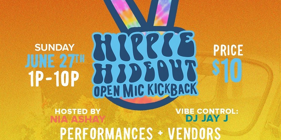 #HippieHideout: Open Mic Kickback