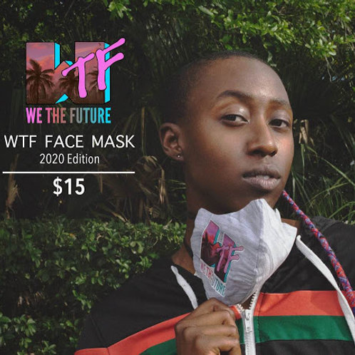 """""""2020"""" WTF Face Mask"""