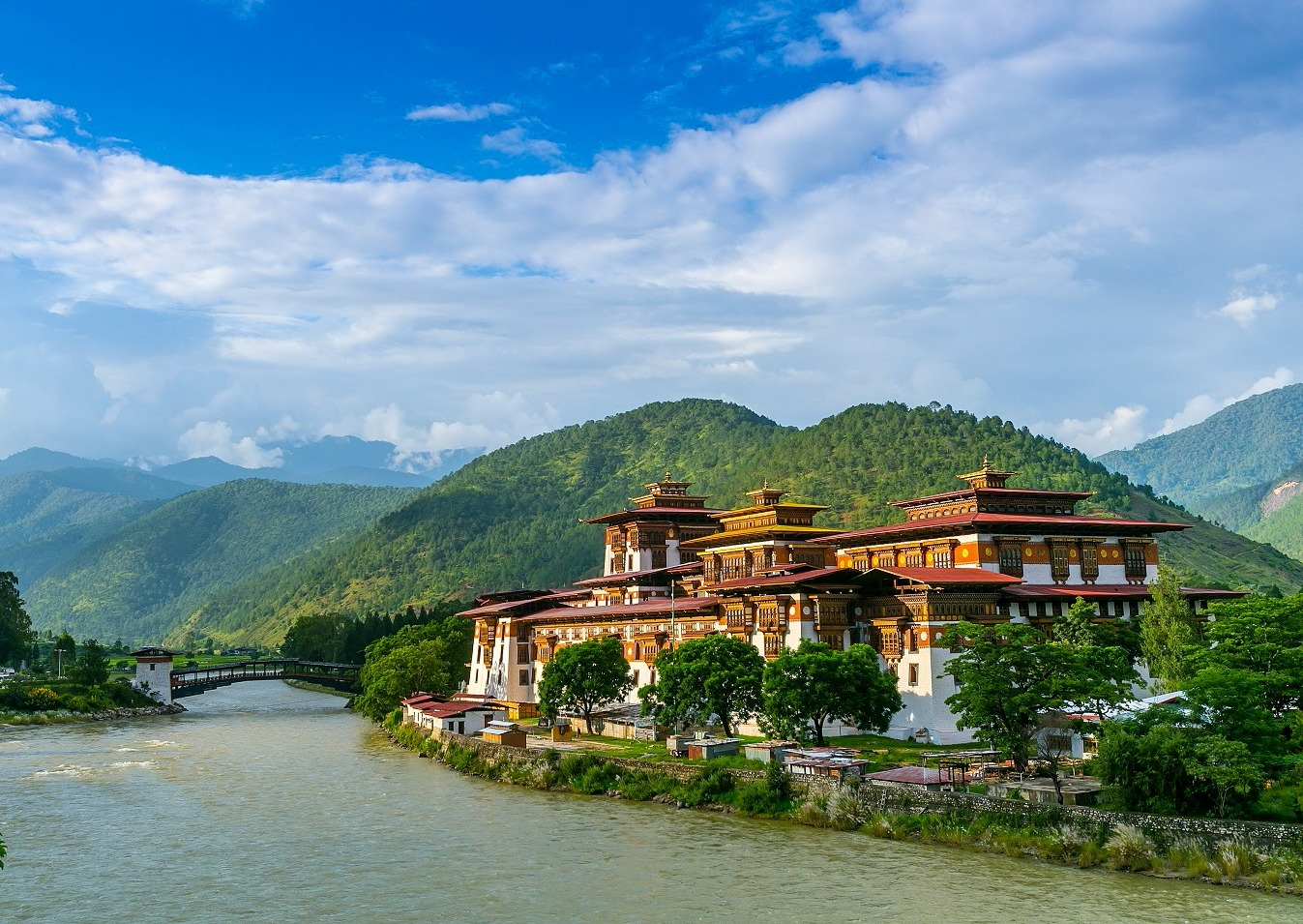 Photo Tour Bhutan Punakha Temple