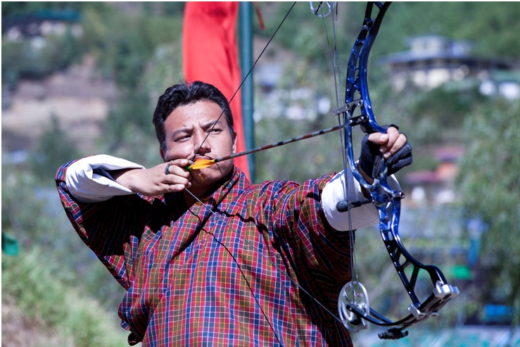 Photo Tour Bhutan Archery Ground