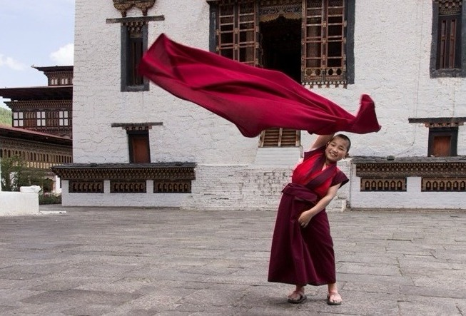 Photo Tour Bhutan Novice Monk
