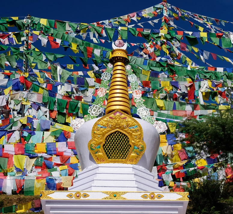 Mcleod Ganj Dharamshala Stupa